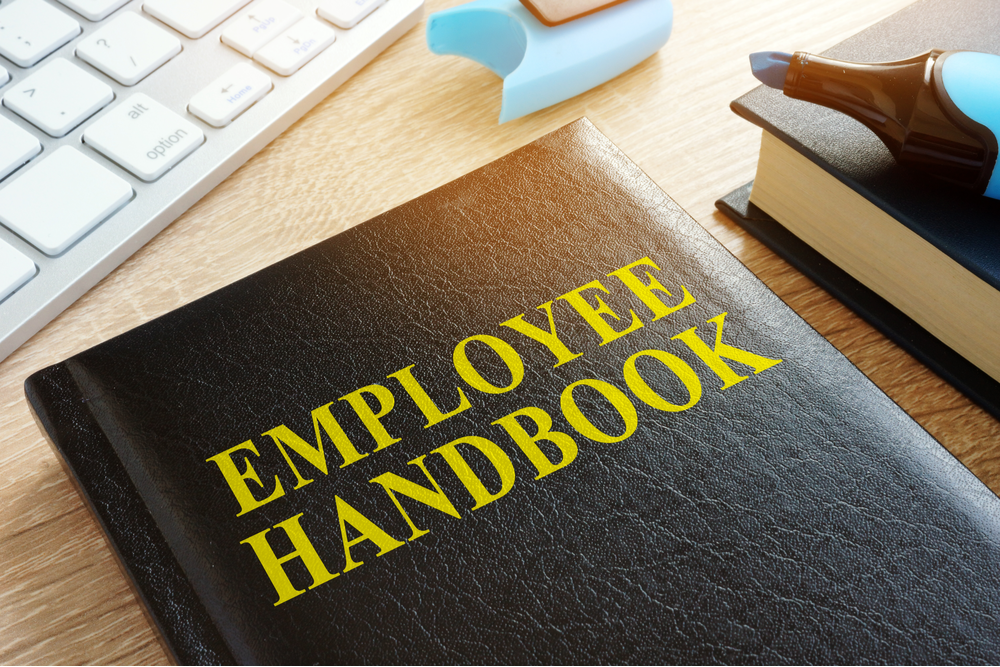 featured image of employee handbook