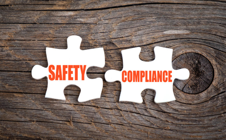 featured image Safety Compliance - words on puzzle.