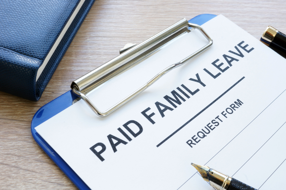 featured image paid family leave form