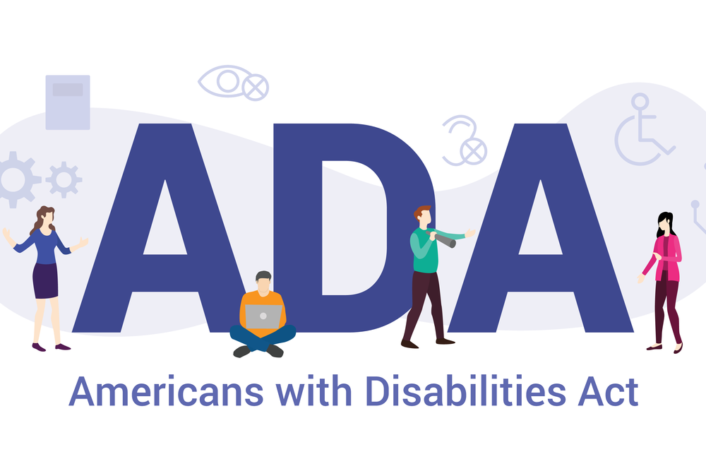 featured image graphic reflecting the Americans with Disabilities Act
