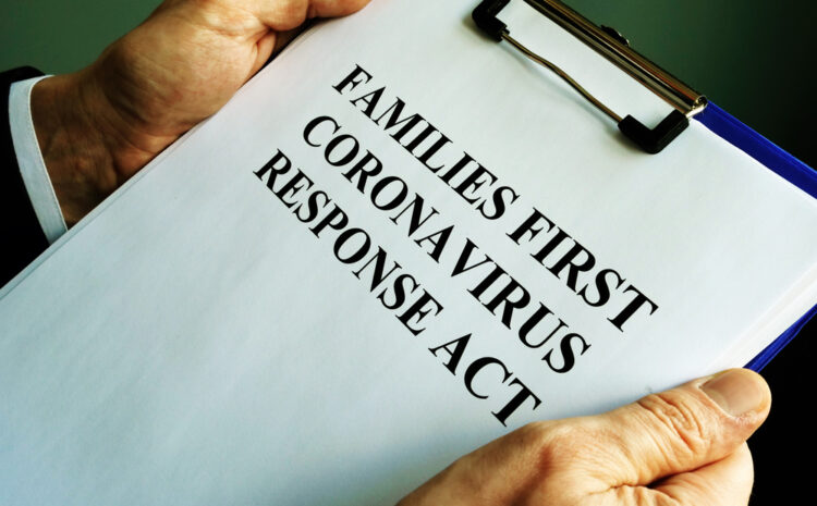 featured image showing a businessman reads families first coronavirus response act FFCRA