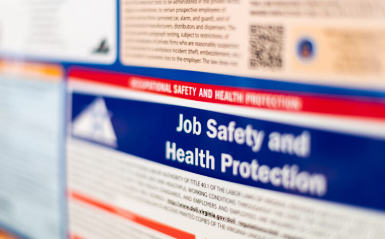 featured image showing Job Safety and Health Protection sign
