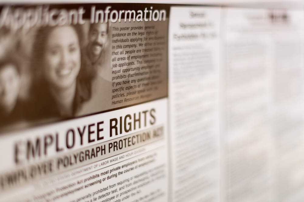 Featured Image showing employee rights posters