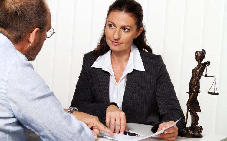 featured image showing a Female Manager Interviewing a Male Candidate for a job