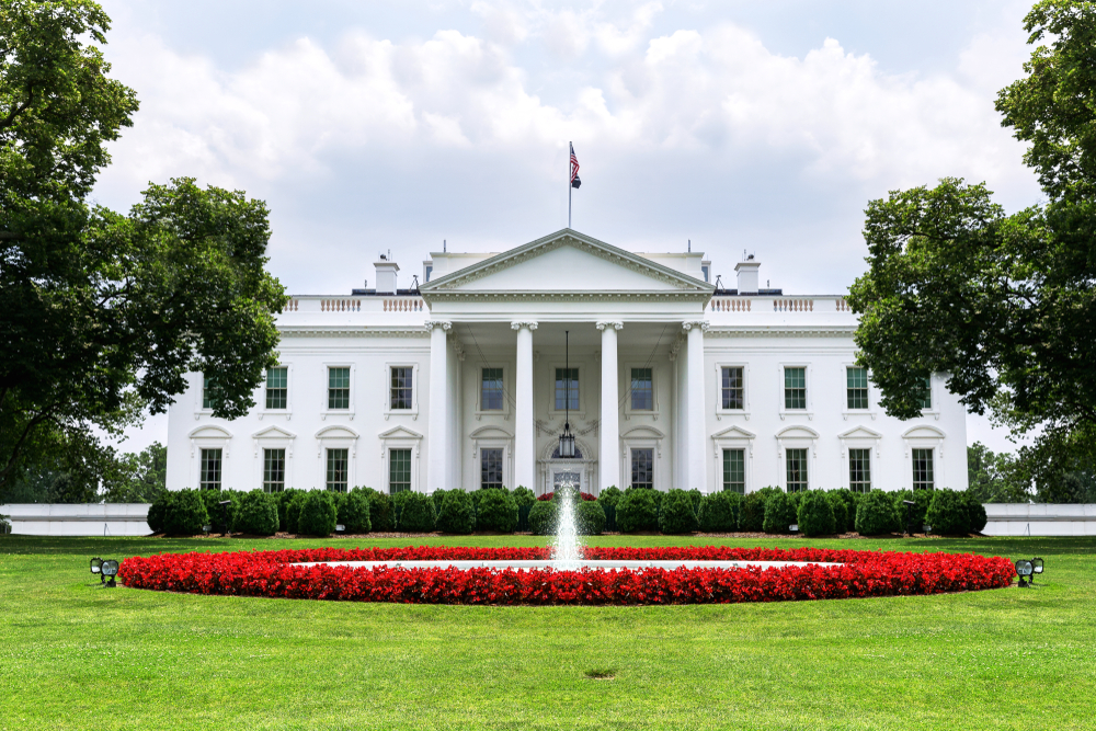Featured image showing the US White House